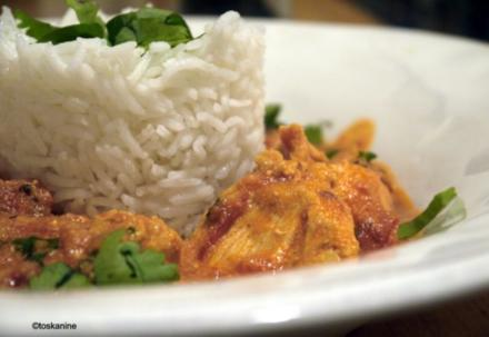 Hühnchen-Tomaten-Curry - Rezept