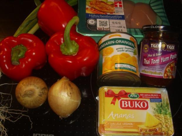 Hühnchen scharf mit Thai Tom Yum - Rezept - Bild Nr. 2