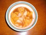 Orangen - Birnen Salat - Rezept