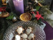 Weihnachten Zimtsterne mit Frucht  zum Nikolaus Kaffee - Rezept
