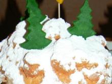 """Weihnachtskäsekuchen """"Schneegestöber"""" - Rezept"""