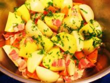 Möhren, Kartoffeln und Zwiebeln ... - Rezept