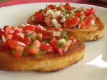 Tomatenbruschetta - Rezept