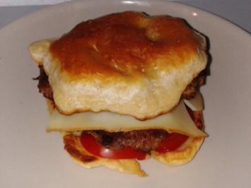 Waffel - Hack - Burger - Rezept