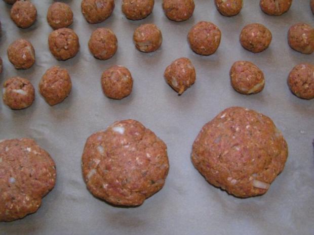 Buletten fettfrei aus dem Ofen - Rezept - Bild Nr. 3