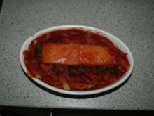 Lachs-Spinat-Nudelauflauf - Rezept