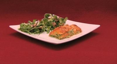 Hauptspeise: Spinat-Ricotta-Lasagne mit Feldsalat (Marie Nasemann) - Rezept