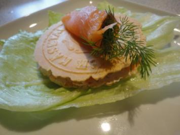Räucher Lachs Cräcker - Rezept