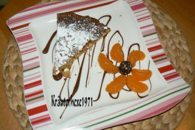 weisse Schokoladentarte - Rezept