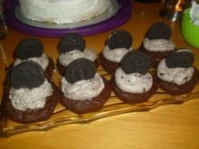 Oreo-Cupcakes - Rezept