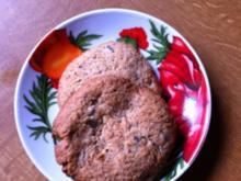 Mürbe Lebkuchen-Cookies - Rezept