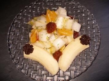 Chicorèe-Bananen-Salat - Rezept