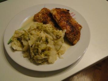 Rezept: Putenschnitzel mit Chili und Chinakohl und