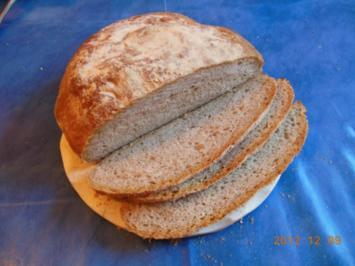 Brot: Toskanisches Landbrot - Rezept