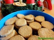 Kekse:   KARAMEL - HEIDESAND - Rezept