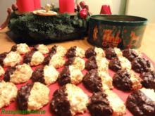 Kekse:   KOKOS - MANDEL - MAKRONEN mit Quark - Rezept