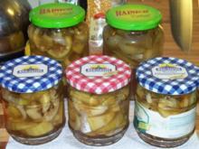 Senfgurken mit Honig - Rezept