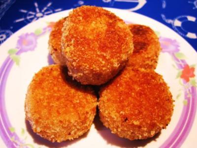 Albondigas de Pollo - knusprig - Rezept