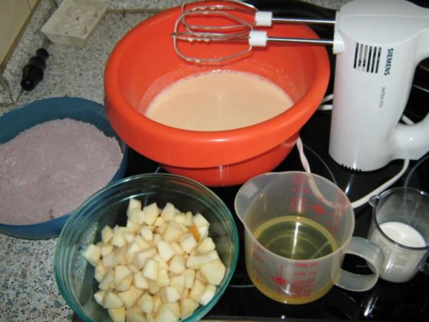 Schokoladen-Birnenkuchen - Rezept - Bild Nr. 2
