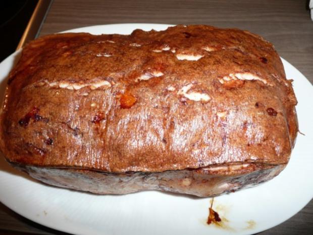 Kartoffelsalat warm,dazu Fleischkäse selber gebacken. - Rezept - Bild Nr. 10