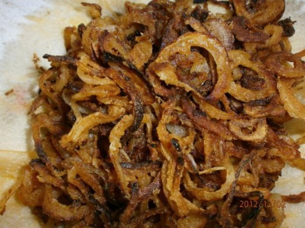 Roastbeef mit Zwiebeln und Chicorèe-Salat - Rezept - Bild Nr. 6
