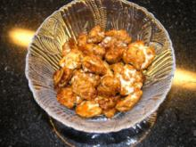 Karamellisierte Nüsse - Rezept