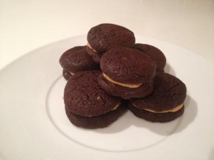 Erdnussbutter Cookies - Rezept