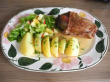 Kaninchen : 2. Adventsessen / Adventsmenü beim Fischli mit Freunden - Rezept