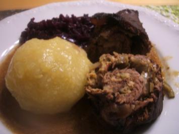 Fleisch: Klassische Rindsrouladen - Rezept