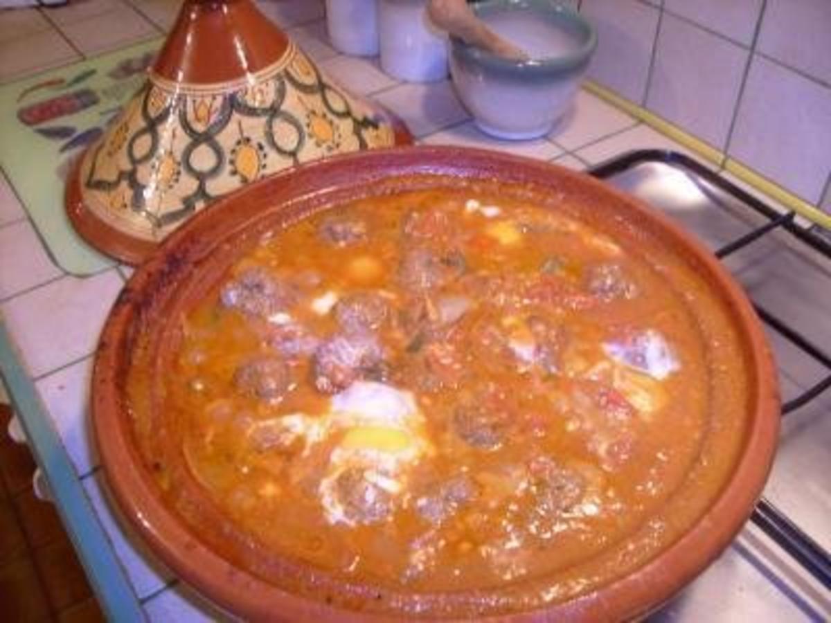 Kefta kleine tunesische Frikadellen die häufig mit roter Soße und Eiern gegessen werden Rezept By 7obi