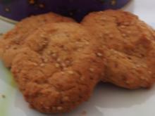 Erdnussbutter-Plätzchen - Rezept