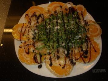 Orangen-Rucola Salat - Rezept