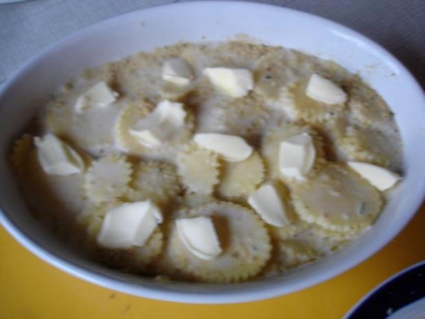 Pikantes Hähnchen mit Möhrenblüten und Kartoffelblütengratin - Rezept - Bild Nr. 28