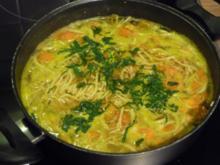 Suppen & Eintöpfe :  Heißes Süppchen zum Wieder-gesund-werden - Rezept