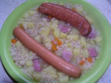 Graupen-Suppe Mit Kochwurst - Rezept