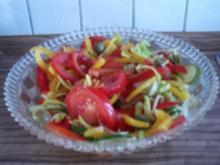 Gemischter Salat mit Oliven - Rezept