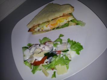 Rezept: Clubsandwich Variation