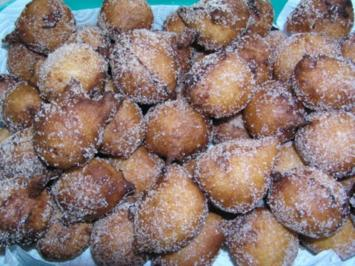 Quarkballen mit Zimt-Zucker - Rezept