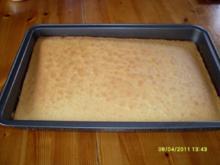 Fliesenkuchen - Rezept
