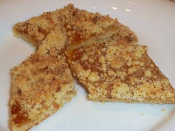 Rezept: gepfefferte Pfirsich-Rauten