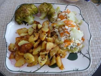 Fleischlos : Möhren - Broccoli - Auflauf - Rezept