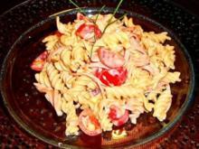 Albana Nudel - Wurst Salat - Rezept