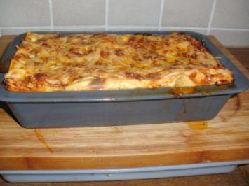 Rezept: Lasagne
