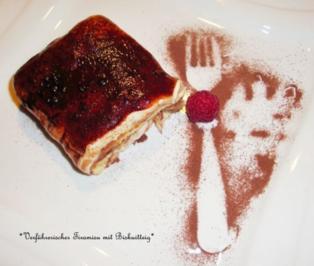 Verführerischer Tiramisu mit Biskuitteig - Rezept
