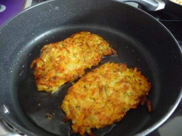 Vegan : Gemüsepuffer - Rezept