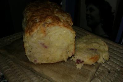 Käse-Schinken Brot - Rezept
