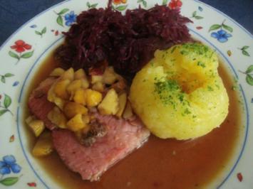 Kasselerbraten in Rotweinsoße - Rezept
