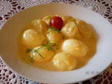 Omas leckere Senfsoße für Fisch oder Eier - Rezept