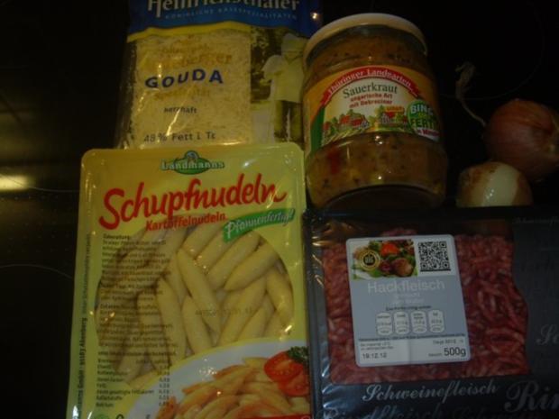Schupfnudel-Sauerkraut-Auflauf - Rezept - Bild Nr. 2