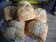 Brot & Brötchen : Meine Zwiebel - Kartoffelbrötchen...mal wieder einfach drauf los... - Rezept